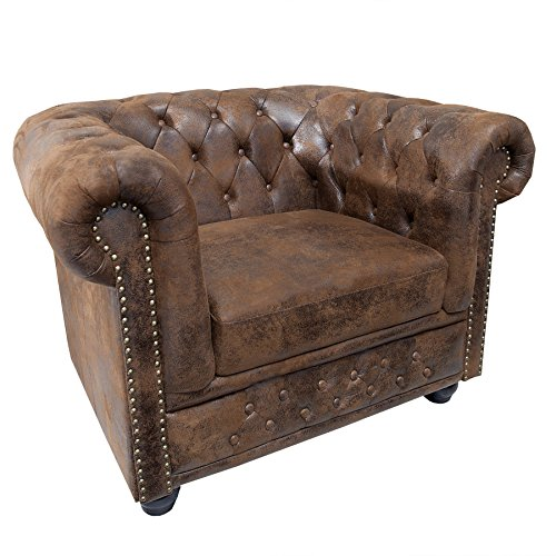 Invicta Interior 17383 Chesterfield Sessel, Antik Look