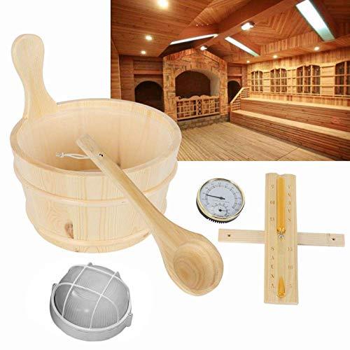 Sauna Eimer Set 5-Teilig Sauna Kübel,...