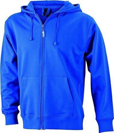 JN042-1 Men´s Hooded Jacke Sweatjacke Kapuze Sweatshirt, Farbe:royal;Herrengrößen:3XL XXXL,Royal by ./.