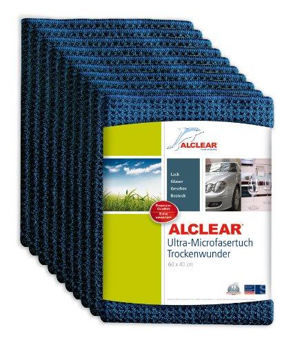 ALCLEAR 10820901 trockenwunder 60 x 40 cm-Bleu Marine-Lot de 10