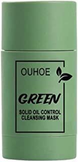 Dásīlín Green Mask, mascarilla limpiadora, mascarilla en barra de arcilla purificadora té verde y berenjena, mascarilla fa...