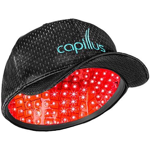 Gorra Láser Capillus 202 - Fabricado en EE.UU. y Autorizado por FDA para Tratamiento de la Alopecia Androgenética - Terapia Anticaída clinicamente probada.