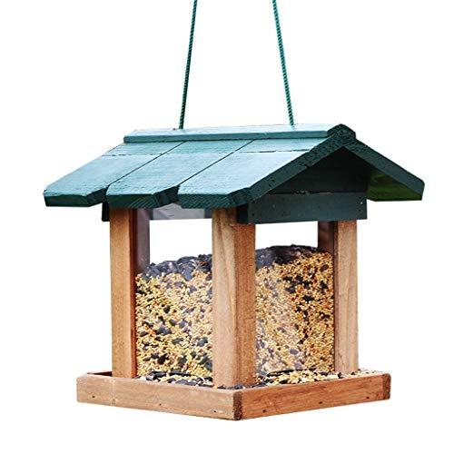 JXXDDQ Les mangeoires à Oiseaux Sauvages attirent Plus d'Oiseaux Parfaits pour la décoration de Jardin, de Grands mangeoires à Oiseaux pour Les Petits et Moyens Oiseaux