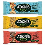 Adonis Low Sugar Barritas de Nuez con Poco Azúcar - Selección Mixta | 100% Natural, Baja en Carbohidratos, Sin Gluten, Vegano, Paleo, Keto (5)