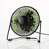 Brookstone Message Fan with Floating LED Display
