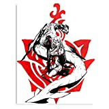 Zero Square Enix Video Game Intoners 3 Drakengard - The Best and Newest Poster for Wall Art Home Decor Room I - Customize