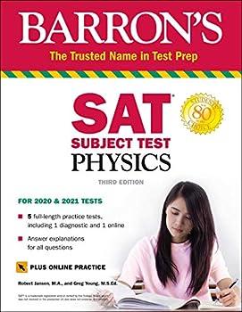 SAT Subject Test Physics with Online Test  Barron s Test Prep
