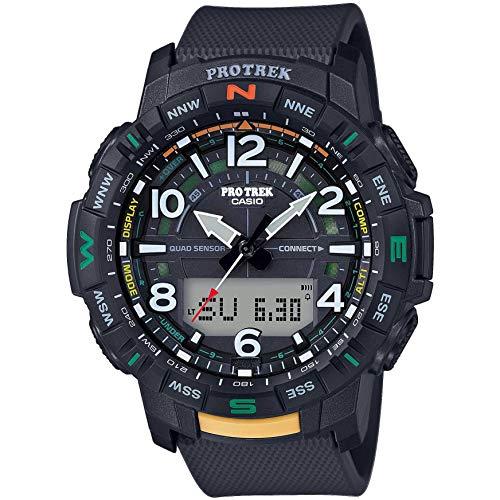 CASIO PRO TREK PRT-B50-1ER Watch Men Anthracite/Silver 2019 Pulsmessgerät