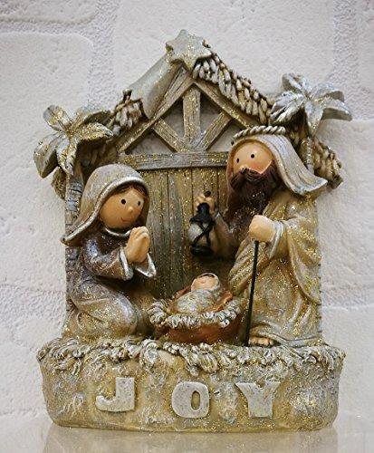 Subito disponibile Nativita Joy Gioia in resina decorazione Natale
