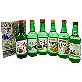 Sulsul Box Soju mit 6 koreanischen alkoholischen Getränken - Ausgewählter Mix aus vielseitigen Geschmacksrichtungen - Korea Alkohol Geschenkbox