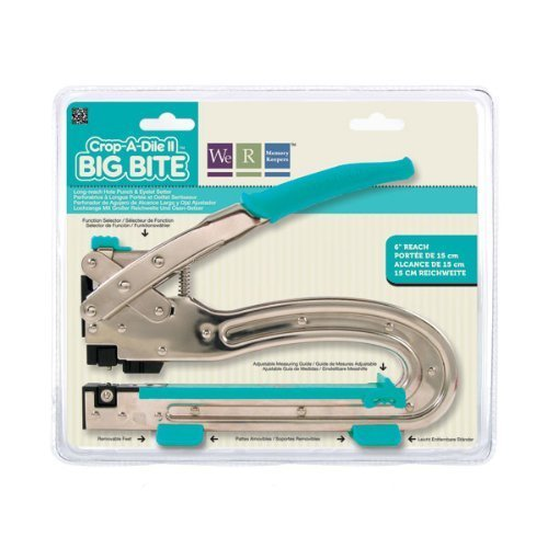 Crop-A-Dile We R Memory Keepers II Big Bite Punch, Blue by Crop-A-Dile