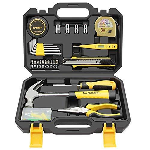 Tool Kit for Haus, Werkzeug-Set - Reparatur-Werkzeug-Schraubenzieher-Werkzeug for DIY Haushalt Reparatur Wartung, 57-teiliges Haushalt DIY Tool Kit, Handwerkzeuge Set