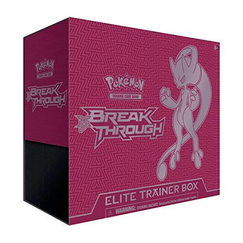 Pokemon TCG: X&Y 8 Breakthrough Elite Trainer Box-Mewtwo Y X&Y 8 Y- Over 65 Cards!