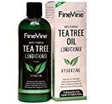 Best Tea Tree Oil Conditioner - for Men, Women and Kids - Prevent Hair Dandruff, Head Lice, Dry Itchy & Flaky Scalp. Sulfate and Paraban Free. Made in USA