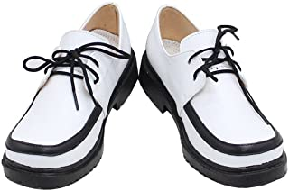 Rosario and Vampire Mizore Shirayuki Daily Halloween White Cosplay Shoes X002