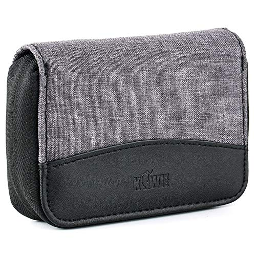 24 SD + 4 CF XQD Slots Handy Memory Card Case Pouch Wallet for SD SDXC SDHC XQD CF Compact Flash Camera Memory Card for Nintendo Switch Sony Playstation Vita Game Card Storage Carrying Holder Gray