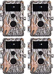 Blaze Video 4-Pack Game and Deer Trail Camera Review