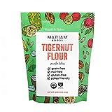 Mariam Goods Organic Tigernut Flour, 16 oz. Bag, Keto, Paleo, Nut-free, Non-GMO and Gluten Free, Vegan, Baking Flour for Cookies, Pancakes, Bread, and Pastries
