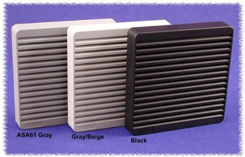 HAMMOND MANUFACTURING Popular product XPFA120GY Filter Grill 5.91INX5.91IN; Fan Max 79% OFF