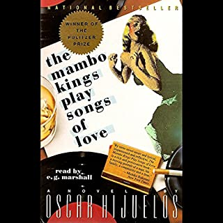 The Mambo Kings Play Songs of Love audiobook cover art