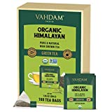 VAHDAM, Organic Green Tea Leaves from Himalayas (100 Tea Bags), 100% Natural Weight Loss Tea, Detox...