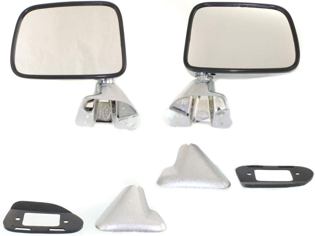 For Toyota Pick Up Mirror 1987 Side Driver 大決算セール Pa and 物品 Passenger 1988