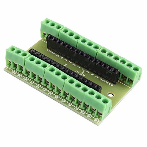 Junta de expansión de E/S Adaptador de Terminal Proto Shield Kits para Arduino Nano
