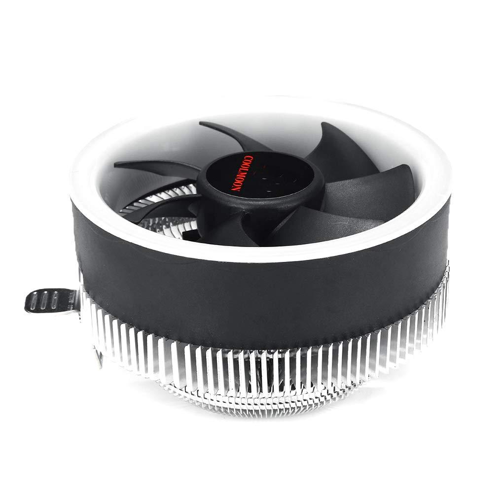 Deinbe Reemplazo para AMD AM2 + / AM3 / AM3 + LED CPU refrigerador ...