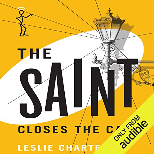 The Saint Closes the Case audiobook cover art