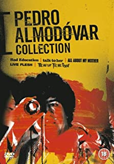 Pedro Almodvar Collection Bad Education / Talk to Her / All About My Mother / Live Flesh / Tie Me Up! Tie Me Down! Region 2