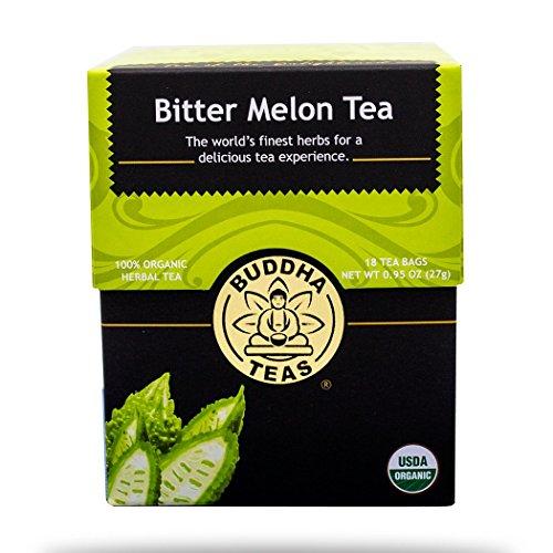Melón Amargo té–PREMIUM hierba único Puro 100% Organic Herbal Tea–Té de Buda–18bolsitas Bleach gratuito de té Bolsas por caja