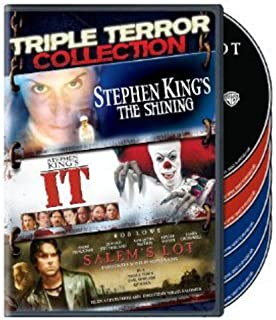 Triple Terror Collection: (Stephen King's The Shining (1997) / It (1990) / Salem's Lot (2004))