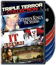 Triple Terror Collection: (Stephen King's The Shining (1997) / It (1990) / Salem's Lot (2004))