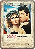 CDecor Grease is The Word Blechschilder, Metall Poster,