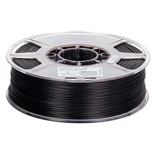 Carbon Fiber Filled Nylon Filament 1.75mm, PA-CF 3D Printer Filament, Dimensional Accuracy +/- 0.05mm, 1KG (2.2 LBS) Spool, Carbon black