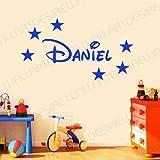 Wall Art Desire Sticker mural en vinyle à personnaliser pour chambre d'enfant...