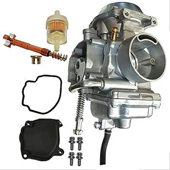 Zoom Zoom Parts Carburetor & Air Fuel Adjustment Screw for Polaris Hawkeye 300 2006 2007 2008 2009 2010 2011
