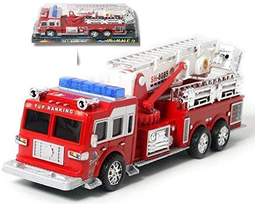 MGM- Camion de Pompier Turbo Challenge Friction, 020190