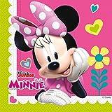 20 Servietten * MINNIE - HAPPY HELPERS * für Kindergeburtstag und Motto-Party // Kinder Geburtstag Maus Mouse Napkins