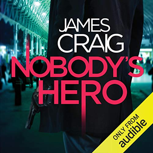 Nobody's Hero audiobook cover art