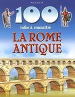 La Rome antique de Fiona MacDonald
