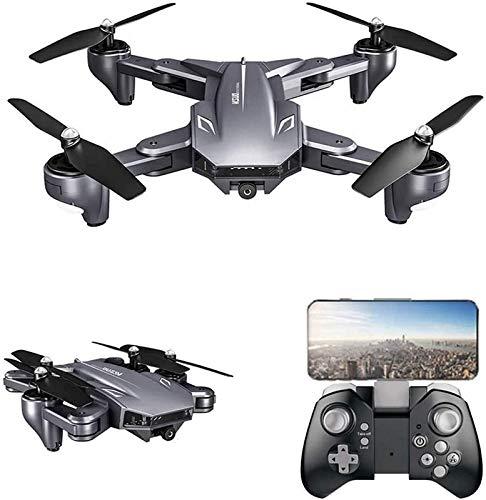aipipl FPV con cámara 4K HD 5G WiFi Transmisión en Vivo Cuadricóptero RC Plegable para niños Principiantes Sígueme/Retención de altitud/Volteretas 3D / Sensor de Gravedad/Control de aplicació