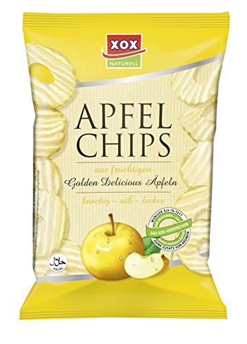 XOX Apfelchips Golden Delicious, 9er Pack (9 x 40 g)