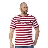 Ruckfield - T-Shirt marinière Rouge - Rouge