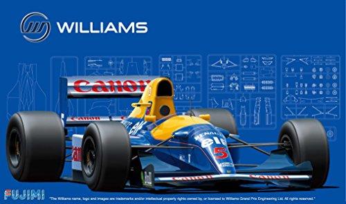 Fujimi modelo de serie 1./2.0 Gran Premio No.5. Williams FW1.4.B 1.9.9.2. modelo de coche