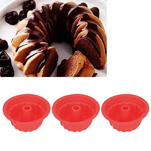 ケーキパン、シリコンケーキ型 ノンスティックケーキ型、ケーキパン用シリコン