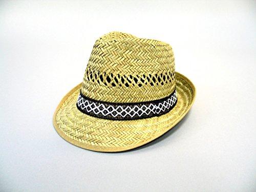 Chapeau d'été pour hommes de paille