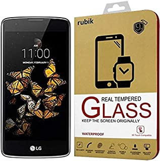 For LG K8 - Rubik Real Tempered Glass Saphire HD Screen Protector For LG K8