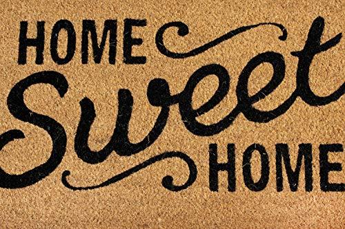 Arce - Zerbino Fibra di Coco 40x60 cm y spessore 1,5 cm anti scivolo |Design Home Sweet