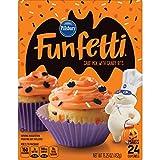 Pillsbury Funfetti Halloween Cake Mix with Candy Bits, 15.25 Ounce